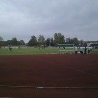 Foto diambil di TSG Giengen 1861 e. V. Stadion oleh Stefan B. pada 10/25/2011