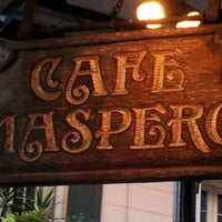 8/25/2012にWayneがCafe Masperoで撮った写真