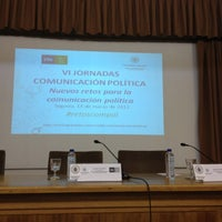Foto tomada en Facultad de Ciencias Sociales, jurídicas y de la comunicación por Ignacio M. el 3/14/2012