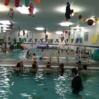Photo taken at Hubbard Family Swim School by kimberly P. on 5/23/2012