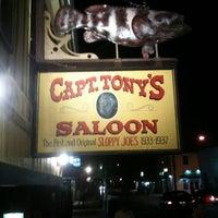 Foto diambil di Captain Tony's Saloon oleh Carroll & Vincent R. pada 1/21/2012