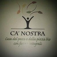 Foto scattata a Pizzeria Ca' Nostra ( pizza e seafood) da Damiano T. il 2/8/2012
