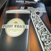 Снимок сделан в Paddy Whacks Irish Sports Pub пользователем John H. 5/4/2012