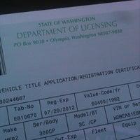 WA State Dept  of Licensing - Mount Baker - Seattle, WA