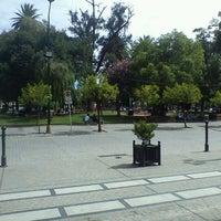 Foto tomada en Plaza 9 de Julio por Luciano S. el 1/25/2012