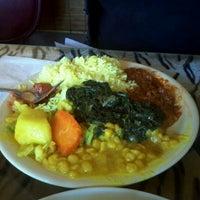 1/13/2012にHaley C.がQueen Sheba Ethopian Restaurantで撮った写真