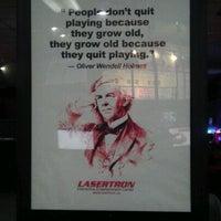 Снимок сделан в Lasertron пользователем Reetesh Y. 2/28/2012
