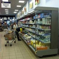 """Снимок сделан в Супермаркет """"Мой Магазин"""" пользователем Полина 8/3/2012"""