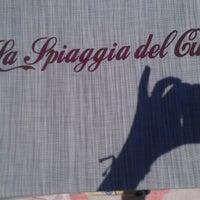 6/23/2012 tarihinde Daniela D.ziyaretçi tarafından La Spiaggia Del Cuore 110'de çekilen fotoğraf