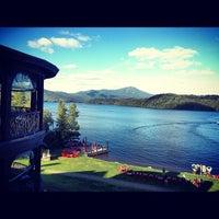 8/18/2012 tarihinde Eric H.ziyaretçi tarafından Lake Placid Lodge'de çekilen fotoğraf