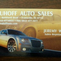 neuhoff auto sales auto dealership in evansville foursquare