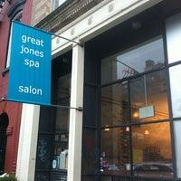6/11/2012 tarihinde Siobhan Q.ziyaretçi tarafından Great Jones Spa'de çekilen fotoğraf