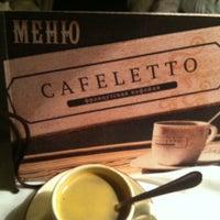 Снимок сделан в Cafeletto пользователем Станислав Б. 3/19/2012