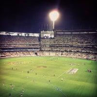 Das Foto wurde bei Melbourne Cricket Ground (MCG) von Henry O. am 5/18/2012 aufgenommen