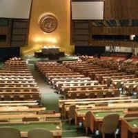 Das Foto wurde bei Vereinte Nationen von Fernando M. am 4/4/2012 aufgenommen