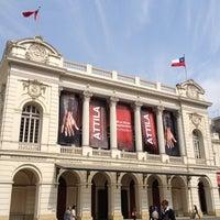 9/7/2012 tarihinde Andres S.ziyaretçi tarafından Teatro Municipal de Santiago'de çekilen fotoğraf