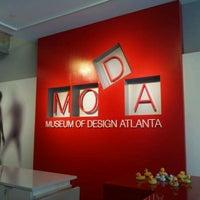 8/20/2011にDJ W.がMuseum of Design Atlanta (MODA)で撮った写真
