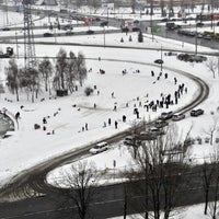 รูปภาพถ่ายที่ Троєщинський канал โดย Roberto V. เมื่อ 1/22/2012