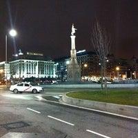 Foto tomada en Plaza de Colón por Miguel B. el 1/28/2011