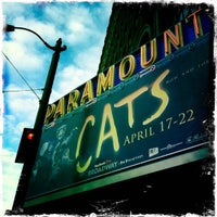 Das Foto wurde bei Paramount Theatre von Danielle D. am 4/19/2012 aufgenommen
