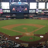 Photo taken at Chase Field by Tiffany on 6/5/2012