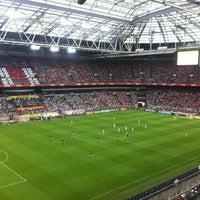 8/5/2012 tarihinde tugayaltundasziyaretçi tarafından Johan Cruijf Arena'de çekilen fotoğraf