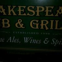 Das Foto wurde bei Shakespeare Pub & Grille von David H. am 6/4/2012 aufgenommen