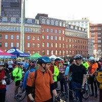 Снимок сделан в City Hall Plaza пользователем Joe F. 5/18/2012
