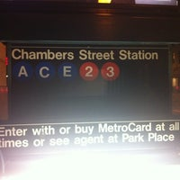 Subway Map From 14th To Chambers.Mta Subway Chambers St A C E Metro Station In Tribeca