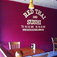 Foto diambil di Red Thai And Sushi oleh Sher-Lynn G. pada 2/3/2011