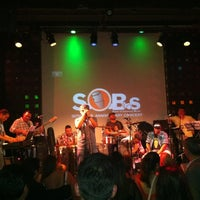 Foto scattata a S.O.B.'s da Susana L. il 6/16/2012