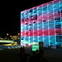 Photo taken at Ars Electronica Center by Arjen D. on 8/2/2012
