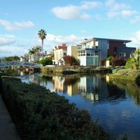 11/19/2011 tarihinde Karen C.ziyaretçi tarafından Venice Canals'de çekilen fotoğraf