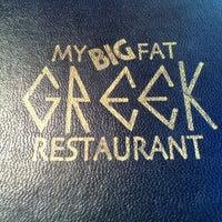 Das Foto wurde bei My Big Fat Greek Restaurant von Holley am 7/16/2011 aufgenommen