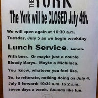 Снимок сделан в The York пользователем Melinda S. 7/4/2011