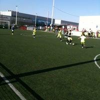 Снимок сделан в Escuela Fútbol L'Aljub пользователем Fernando G. 6/23/2012