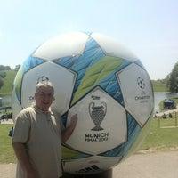 Снимок сделан в UEFA Champions Festival 2012 пользователем Matt 5/19/2012