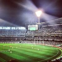 Das Foto wurde bei Melbourne Cricket Ground (MCG) von Kevin P. am 9/1/2012 aufgenommen