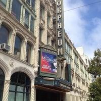 Foto scattata a SHN Orpheum Theatre da Michael S. il 8/25/2012