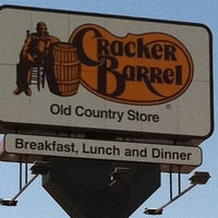 Photo taken at Cracker Barrel Old Country Store by Nick D. on 7/8/2012