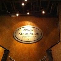 Снимок сделан в Acropolis Greek Taverna пользователем Dave W. 7/29/2011