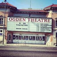Снимок сделан в Ogden Theatre пользователем Josh G. 8/25/2012