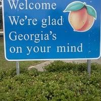 Florida / Georgia State Line - Border Crossing