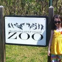 Foto tirada no(a) Alabama Gulf Coast Zoo por Corey G. em 3/18/2012