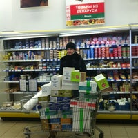 """Снимок сделан в Супермаркет """"Мой Магазин"""" пользователем Galya N. 3/8/2012"""