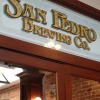 Снимок сделан в San Pedro Brewing Company пользователем Terika K. 6/8/2012