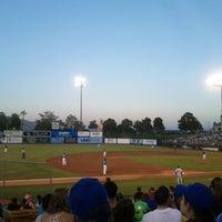 6/16/2012 tarihinde Ashley T.ziyaretçi tarafından Cashman Field'de çekilen fotoğraf