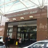 Foto scattata a Sheraton São Paulo WTC Hotel da Gabriel R. il 6/1/2012