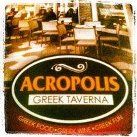 Снимок сделан в Acropolis Greek Taverna пользователем Moises R. 3/3/2012