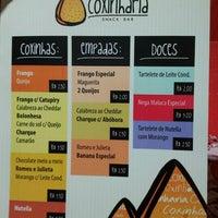รูปภาพถ่ายที่ Coxinharia Snack Bar โดย Saulo A. เมื่อ 8/4/2012